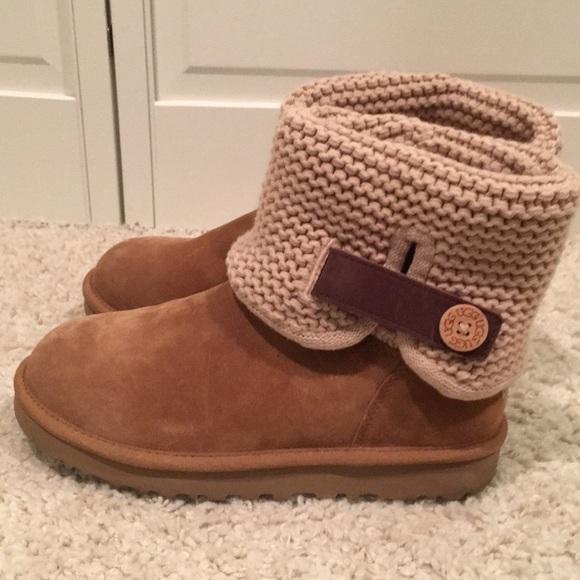 d0f8772e2da (Chestnut) Uggs Shaina Knit Women's size 8